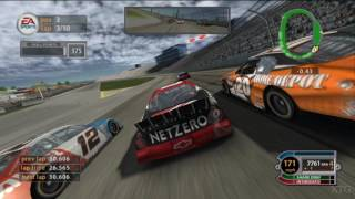 NASCAR 2005: Chase for the Cup PS2 Gameplay HD (PCSX2)