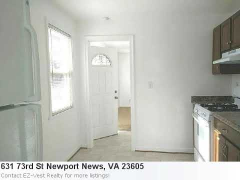 Real Estate Listing In Newport News, Va - 2 Bedroom, 1 Bath Home Listed At Just $895!