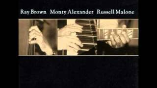 Ray Brown,Monty Alexander,Russell Malone Fly Me to the Moon