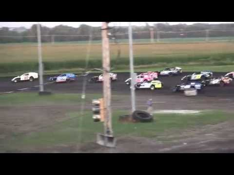 IMCA Modified feature Benton County Speedway 8/2/15