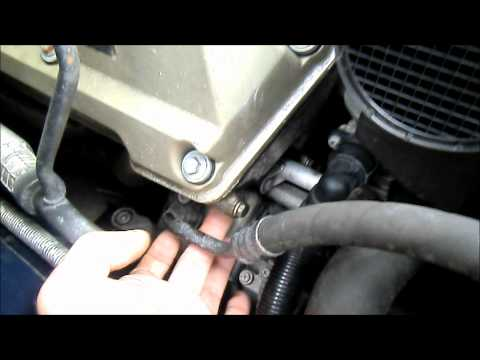 BMW E38 7 series Timing chain tensioner replacement