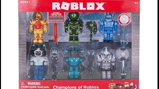 Roblox Toys the champions of roblox unboxing