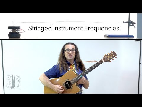 Stringed Instrument Frequencies