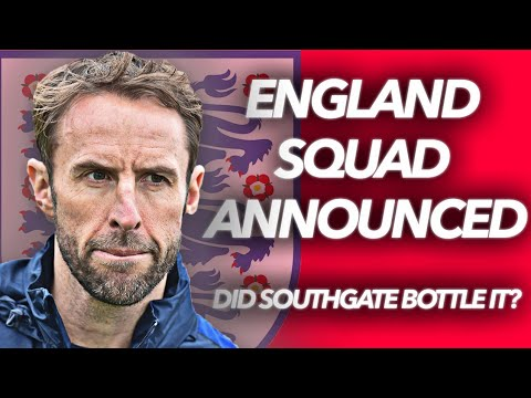 HAS SOUTHGATE BOTTLED IT? | ENGLAND WORLD CUP 2018 SQUAD REACTION | Great Touch For A Big Lad