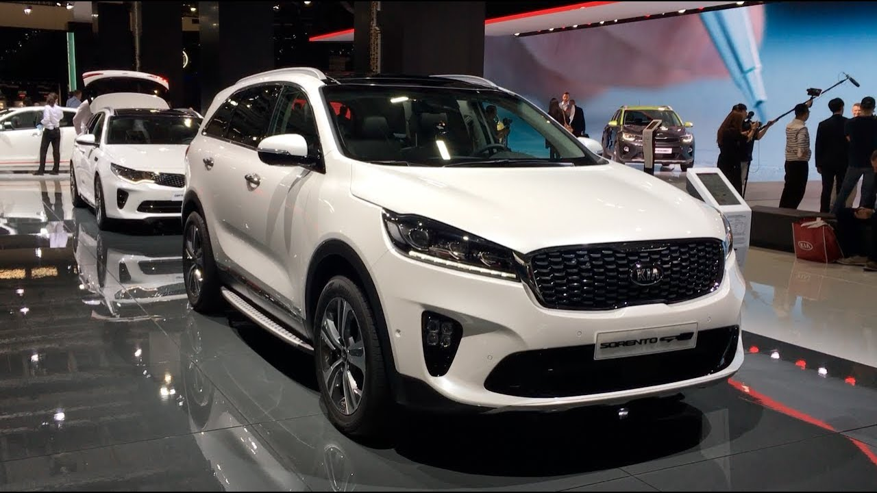 kia sorento gt line 2017 in detail review walkaround. Black Bedroom Furniture Sets. Home Design Ideas