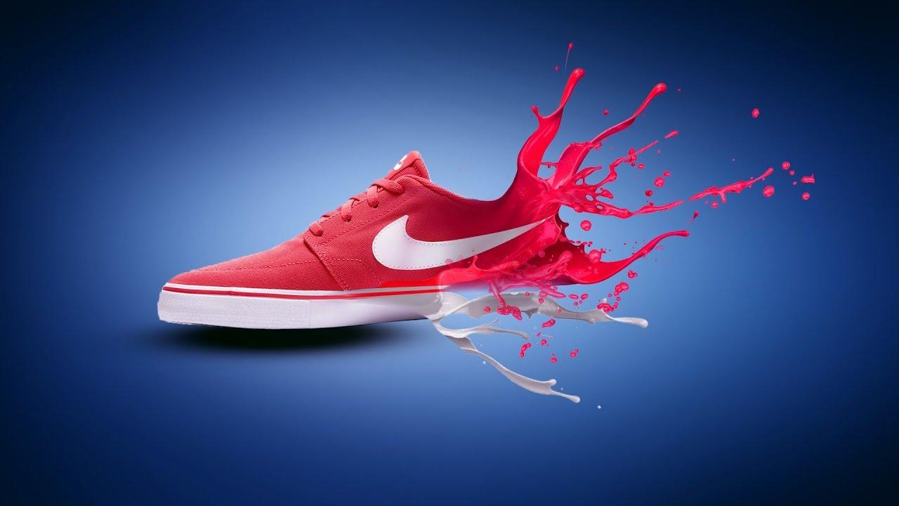 Running Shoe Splash