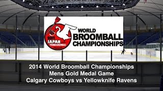 2014 World Broomball Championship Mens Game
