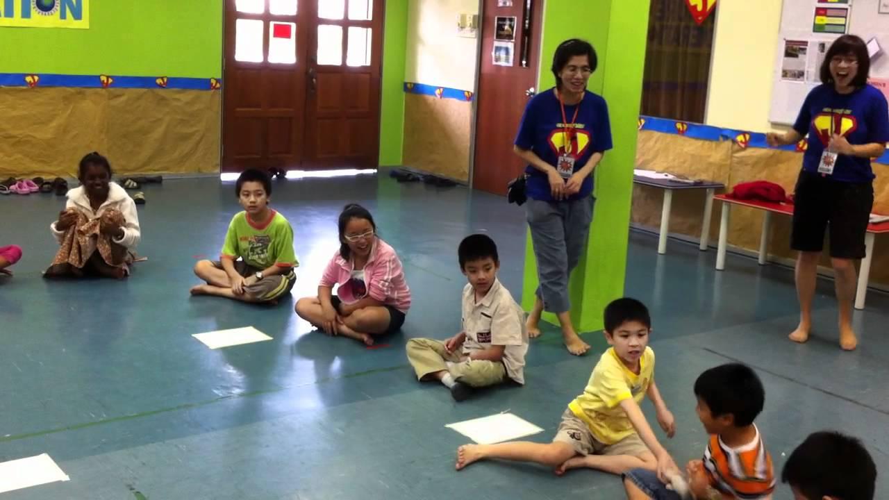 Kids Prayer Camp Ice Breaker