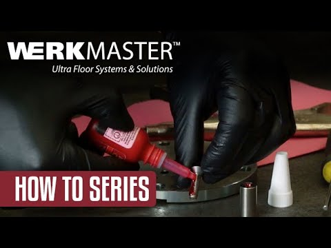 DIY How to replace a shear pin on a WerkMaster concrete floor grinder