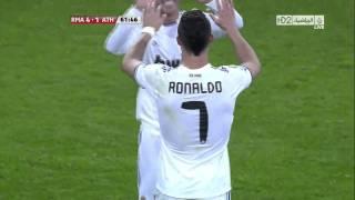 Cristiano Ronaldo Free Kick Vs Atletico Bilbao 1080p HD - 20,11,2010