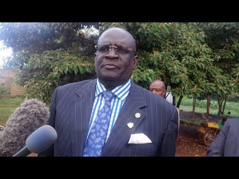 Prof. Magoha wants one police officer to guard exam papers from container to classrooms