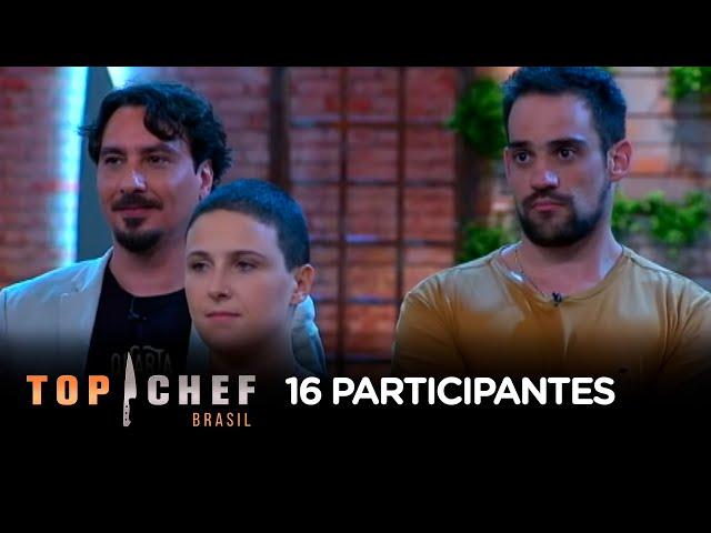 Conheça os participantes do Top Chef