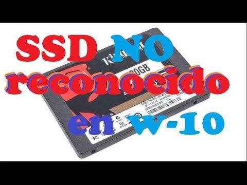 PC NO RECONOCE DISCO SSD (COMO SOLUCIONARLO)