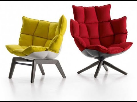 Comfortable Chair For Small Space - YouTube