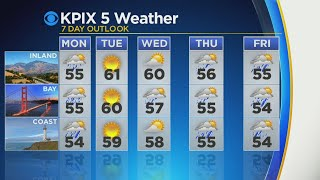 SHOWERS RETURN: Rain showers predicted for Bay Area this week