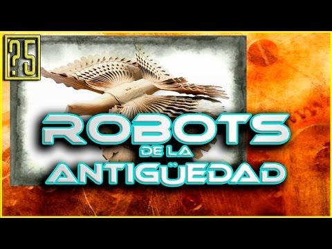 Los 5 Robots más Increíbles de la Antigüedad