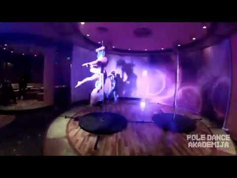 POLE DANCE Akademija na VELIKOJ SCENI Grand Casino Beograd - Drugi performans