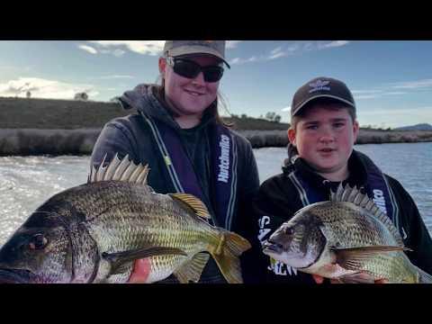 Bream Fishing Swan River Tasmania, With Hurricane Lures