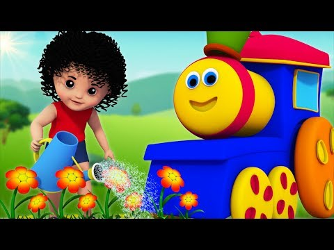Mary Mary Quite Contrary | Bob The Train | Kindergarten Nursery Rhymes For Kids