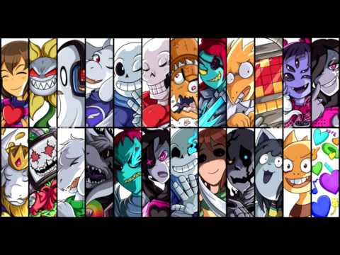 Undertale all boss themes (and others)