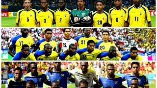 Todos los Goles de Ecuador en Mundiales (2002 - 2006 - 2014)