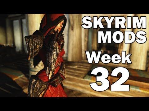 Skyrim Mods: Dawnguard Armors, Daedric Dwarven Crossbow