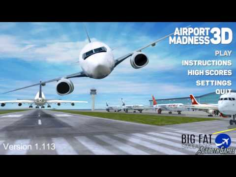 Airport Madness 3D Gameplay Toronto Island Airport (Move 100 Planes)