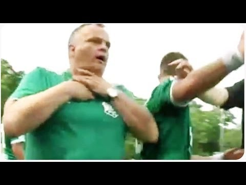 Hilarious Soccer Coach Dive | Ultimate Faker