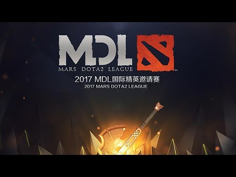 iG vs NewB MDL 2017 Groupstage Game 1 bo1
