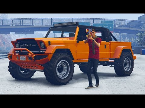 GTA 5 Online New Year's Day Update! Snowfall, New Content, Rare Gifts & More! (GTA 5 Update)