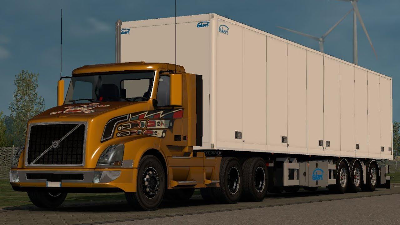 [1 32] Euro Truck Simulator 2 | Volvo VNL Original Base SCS | Mods