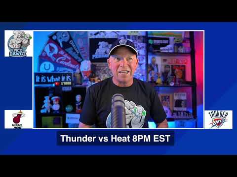 Oklahoma City Thunder vs Miami Heat 8/12/20 Free NBA Pick and Prediction NBA Betting Tips