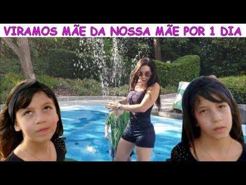 VIRAMOS MÃE DA NOSSA MÃE POR 1 DIA
