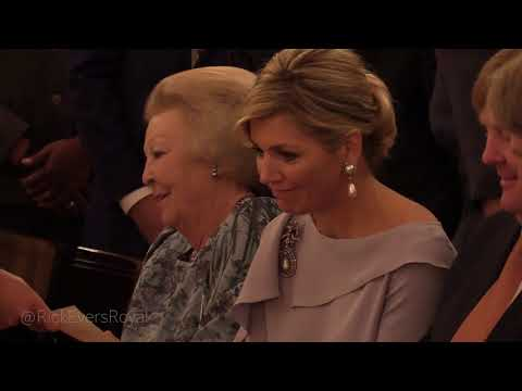 June 6: Queen Máxima hosts award ceremony at the palace