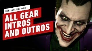 Mortal Kombat 11 - Joker: All Gear, Intros, and Outros