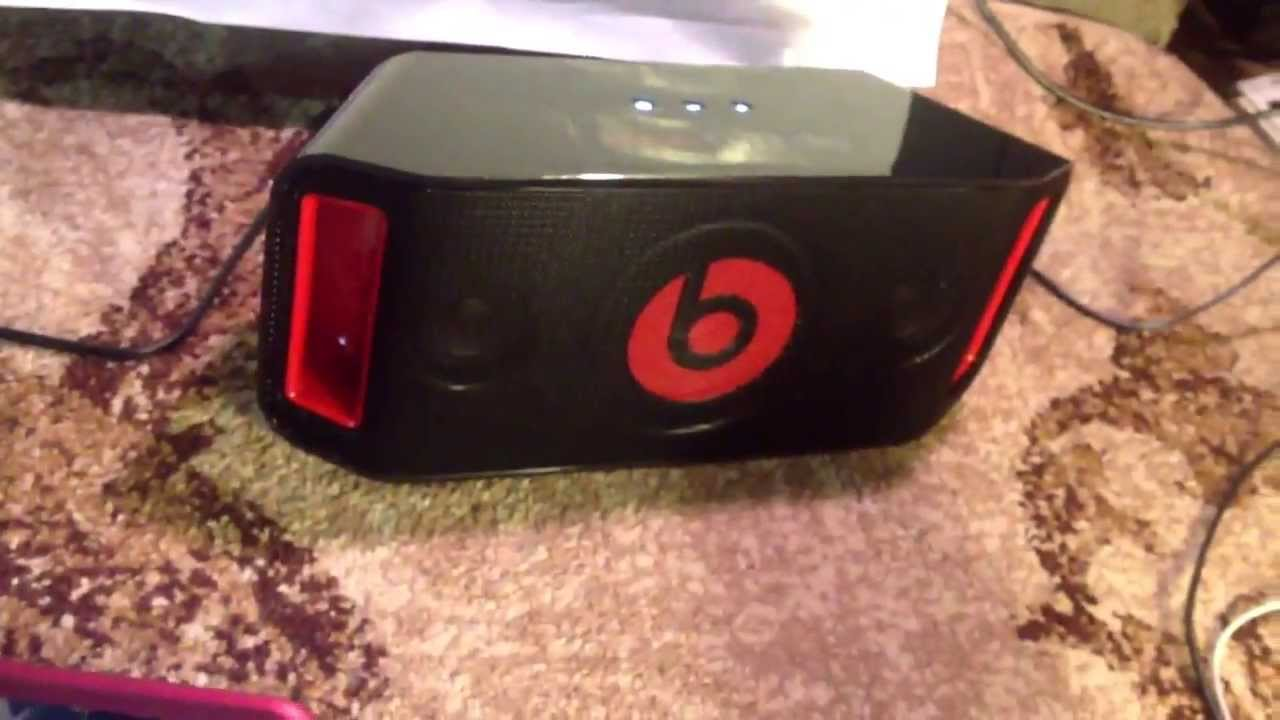 New Beats By Dre Beat Box Portable Reviewtutorial 2013 Youtube