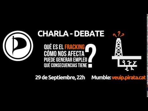 Charla-Debate sobre fracking