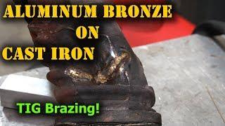 TFS: Cast Iron Weld Repair with Aluminum Bronze