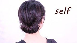 Self [Gibson Tuck] How to fasten & roll ♪/Chie's Hair Arrange