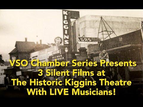 VSO Chamber Series Presents 3 Silent Film Classics!