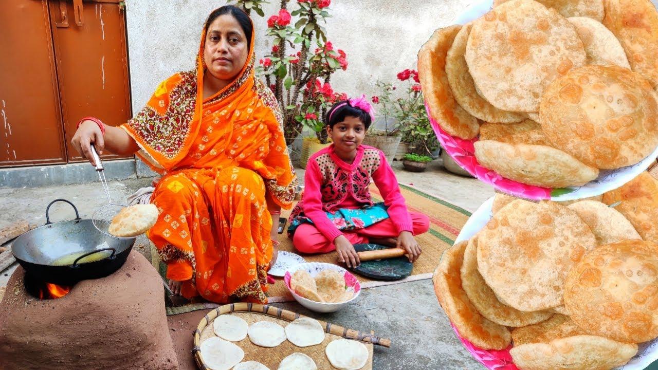 পুর বের হওয়া ঝামেলা ছাড়াই খুব সহজে তৈরি করুন ডালপুরি / Dal puri recipe