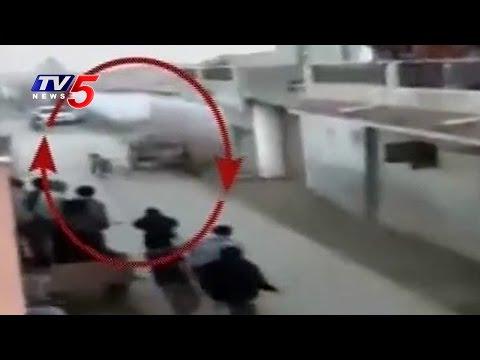 Villagers Run Behind a Lion at Gir Village in Gujarat | TV5 News