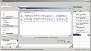 إنشاء بطاقة الأداء باستخدام SAP BW بيكس الاستعلام الاستثناءات: SAP BusinessObjects Design Studio 1.0