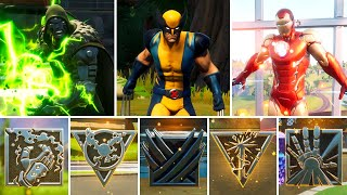 All Bosses, Mythic Weapons & Vault Locations Guide - Fortnite Chapter 2 Season 4 (UPDATED)