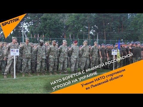 НАТО борется с мнимой российской угрозой на Украине