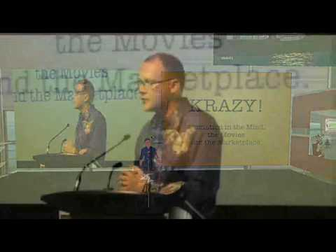 Tim Johnson KRAZY Talk! Part 1-Centre for Digital Media (CDM)