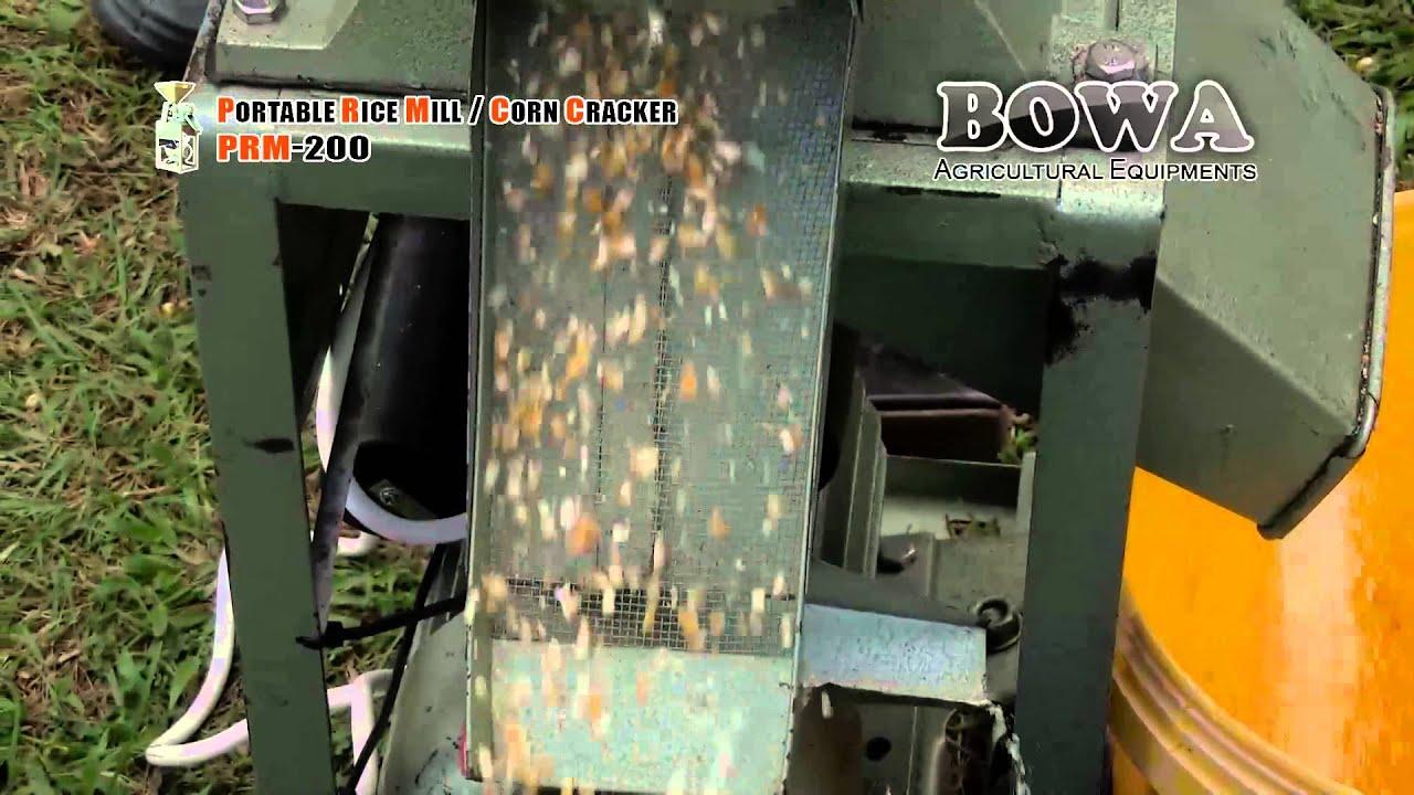 cracked corn machine