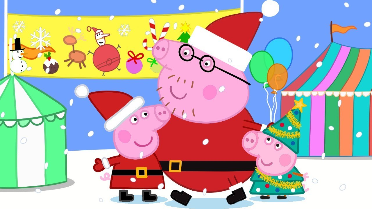 pre order coupon code retail prices Peppa Pig Official Channel 🎈 Christmas Fete Fun with Peppa Pig 🎈