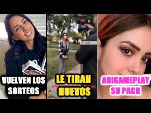 ATACAN A LIZBETH RODRIGUEZ CON HUEVOS/EL P@K DE ARIGAMPLAYS/ MARIALE OTRA VES?