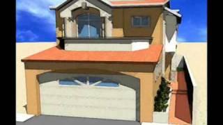 Repeat youtube video Planos de Casas Modelo San Florencio #93 Arquimex Planos de Casas